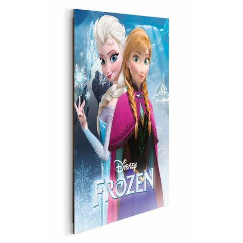 Wandbild Disney Die Eiskönigin Anna & Elsa