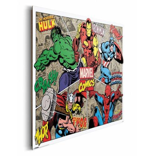 Wandbild Marvel Comics