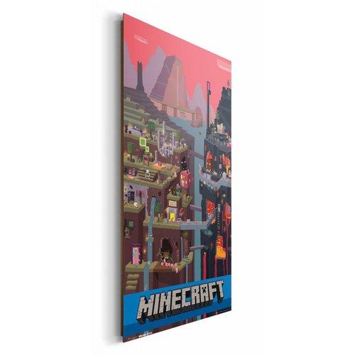 Wandbild Minecraft