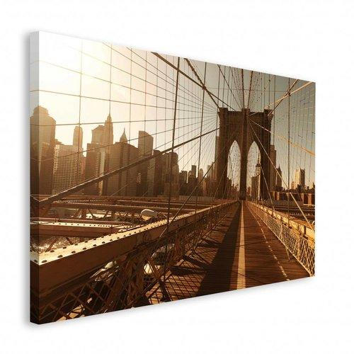 Wandbild New York -Brooklyn Brücke