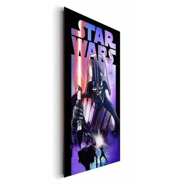 Star wars darth vader wandbild reinders - Star wars wandbild ...