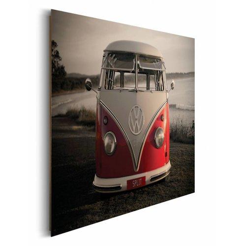 Wandbild Volkswagen Bulli