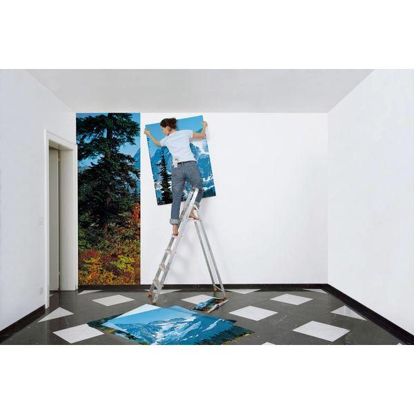 Morgen in den Bergen  - Fototapete 8-teilig 366 x 254 cm