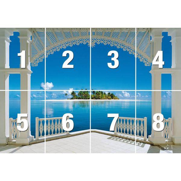 Perfekten Tag  - Fototapete 8-teilig 366 x 254 cm