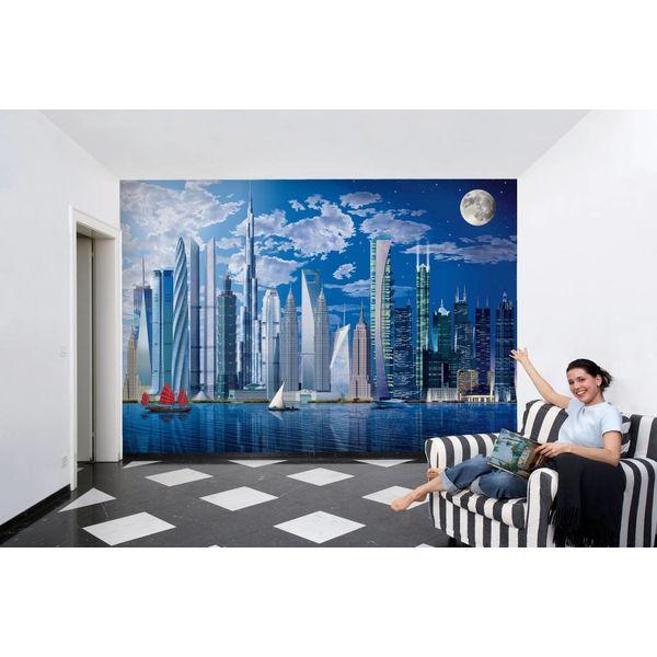 Höchste Gebäude der Welt  - Fototapete 8-teilig 366 x 254 cm