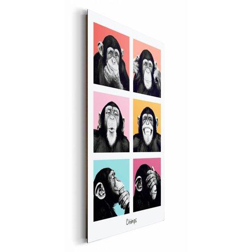 Wandbild The Chimp - pop