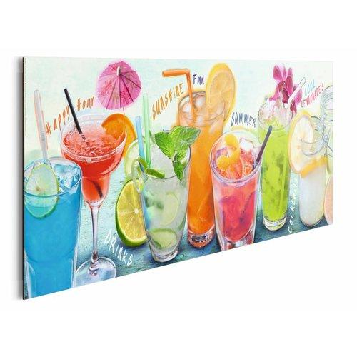 Wandbild Cocktail Party