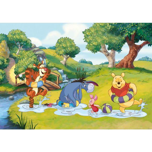 Winnie der Pooh  - Fototapete 254 x 184 cm