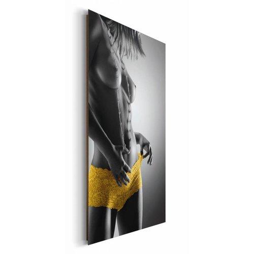 Wandbild Gelbe Hotpants