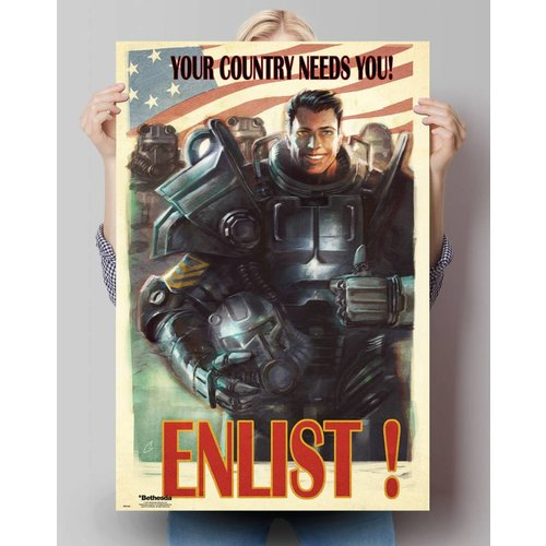 Poster Fallout 4 Enlist