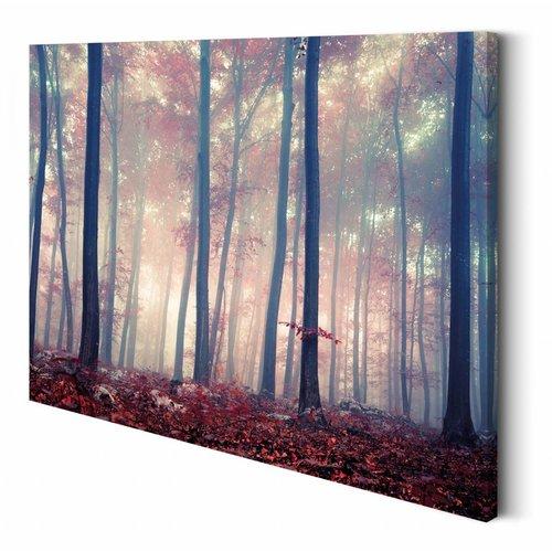 Wandbild Bunter Wald