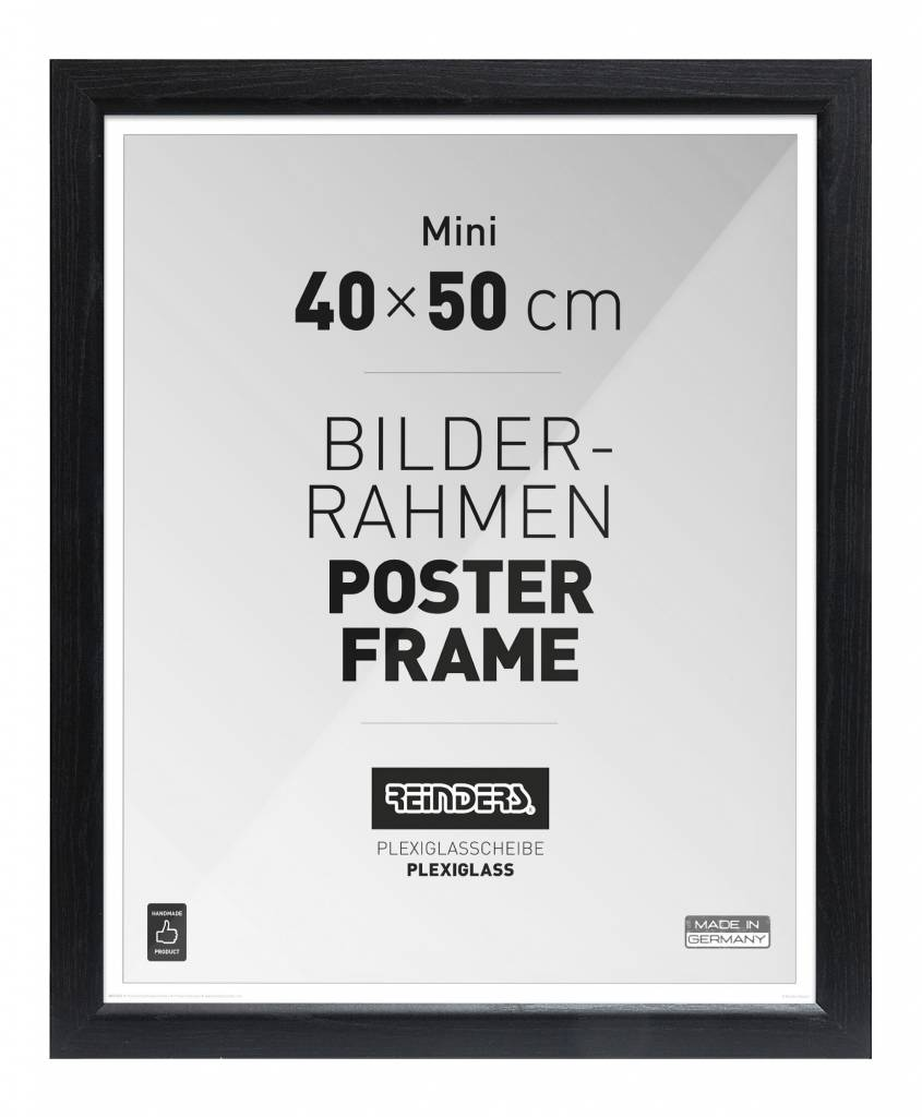 bilderrahmen f r poster 40x50 cm mdf romantic reinders. Black Bedroom Furniture Sets. Home Design Ideas