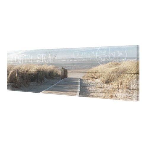 Wandbild Nordsee Dünen