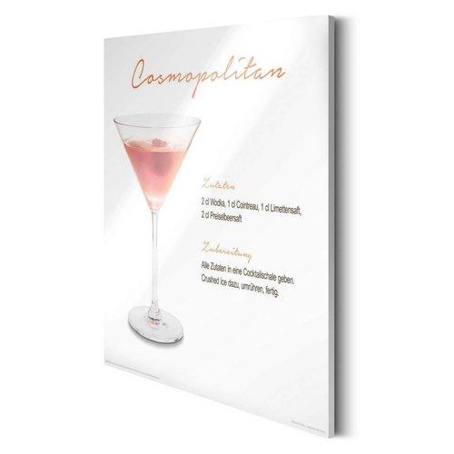 Glasbild Cosmopolitan Cocktail