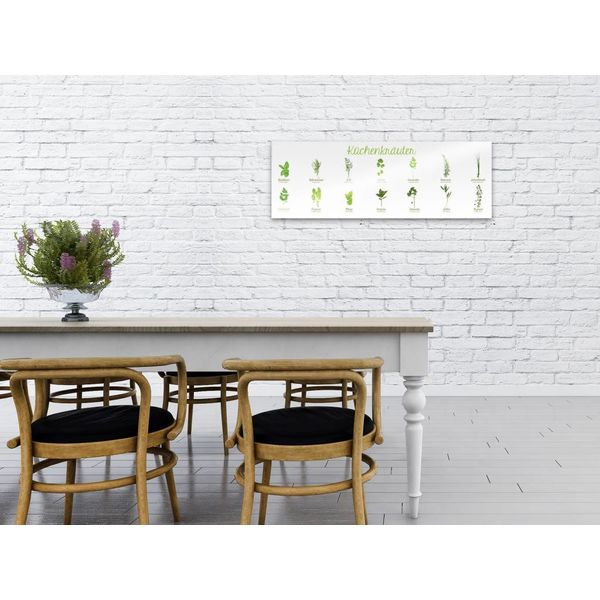 Kräuter  - Deco Glass 95 x 33 cm