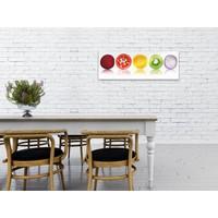 Veggie Farben  - Deco Glass 95 x 33 cm