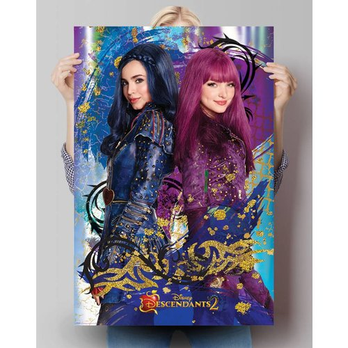Poster Descendants Evie & Mal