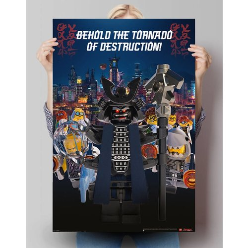 Poster LEGO Ninjago Film Garmadon