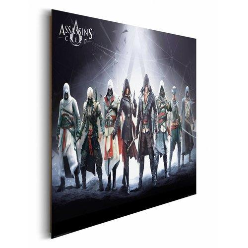 Wandbild Assassin`s Creed Charaktere