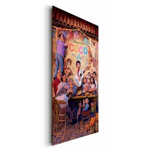 Wandbild Coco Familie