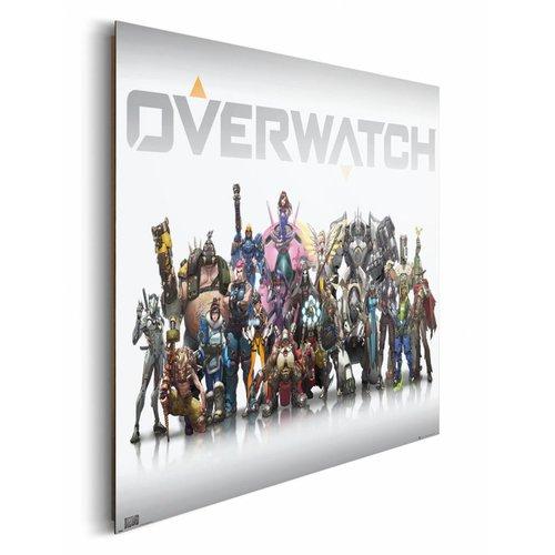 Wandbild Overwatch Charaktere