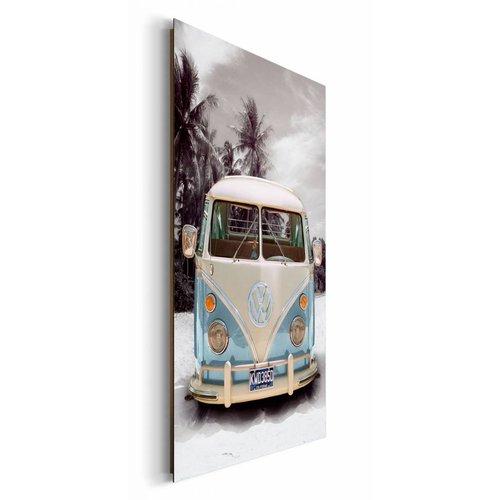 Wandbild Volkswagen Bulli T1 Sand
