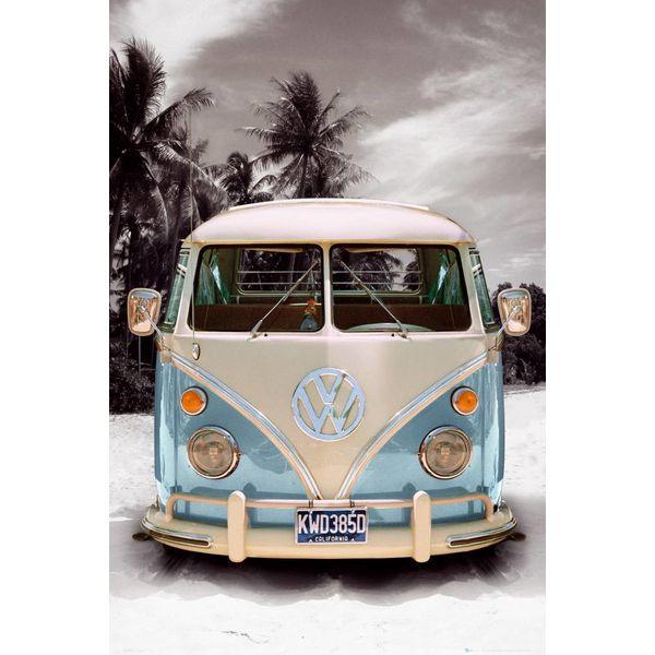 Volkswagen Bulli T1 Sand - Deco Panel 60 x 90 cm