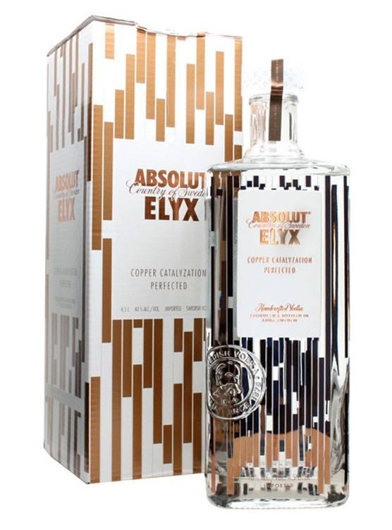 Absolut Absolut ELYX 4,5 Liter