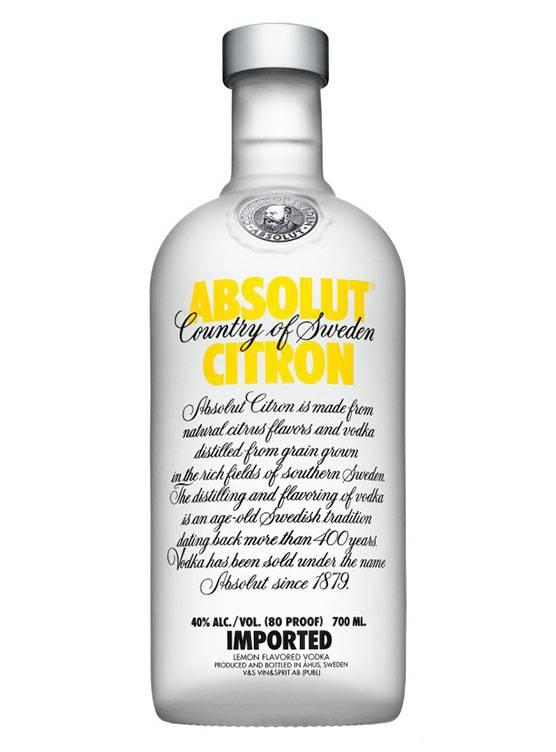 Absolut Absolut Citron 70CL