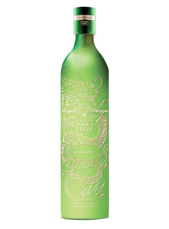 Royal Dragon Royal Dragon Elite Green Apple Vodka 70CL