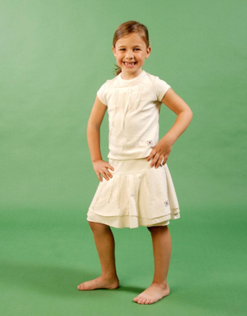 Falda junior puntillas. Tallas 2, 4, 6 años.
