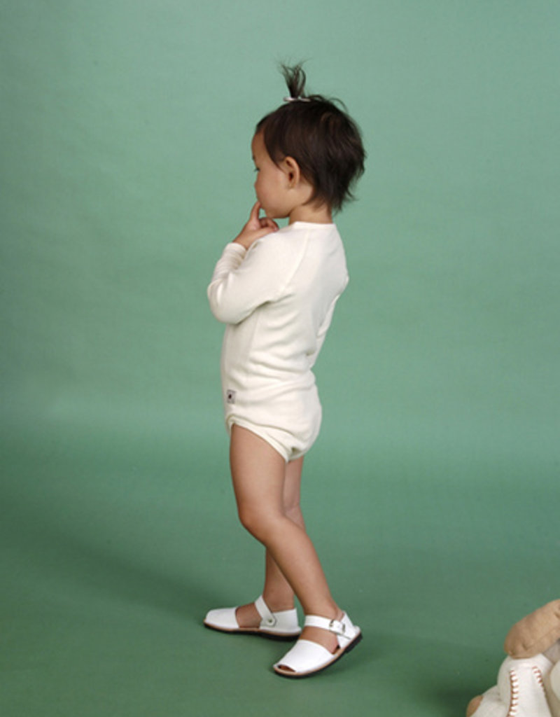 Body cruzado manga larga. Tallas 12, 18, 24 meses.