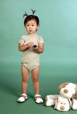 Body cruzado manga corta. Tallas 1, 3, 6 meses.