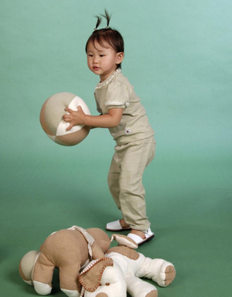 Blusa bebé puntilla y manga corta. Tallas 1, 3, 6 meses.