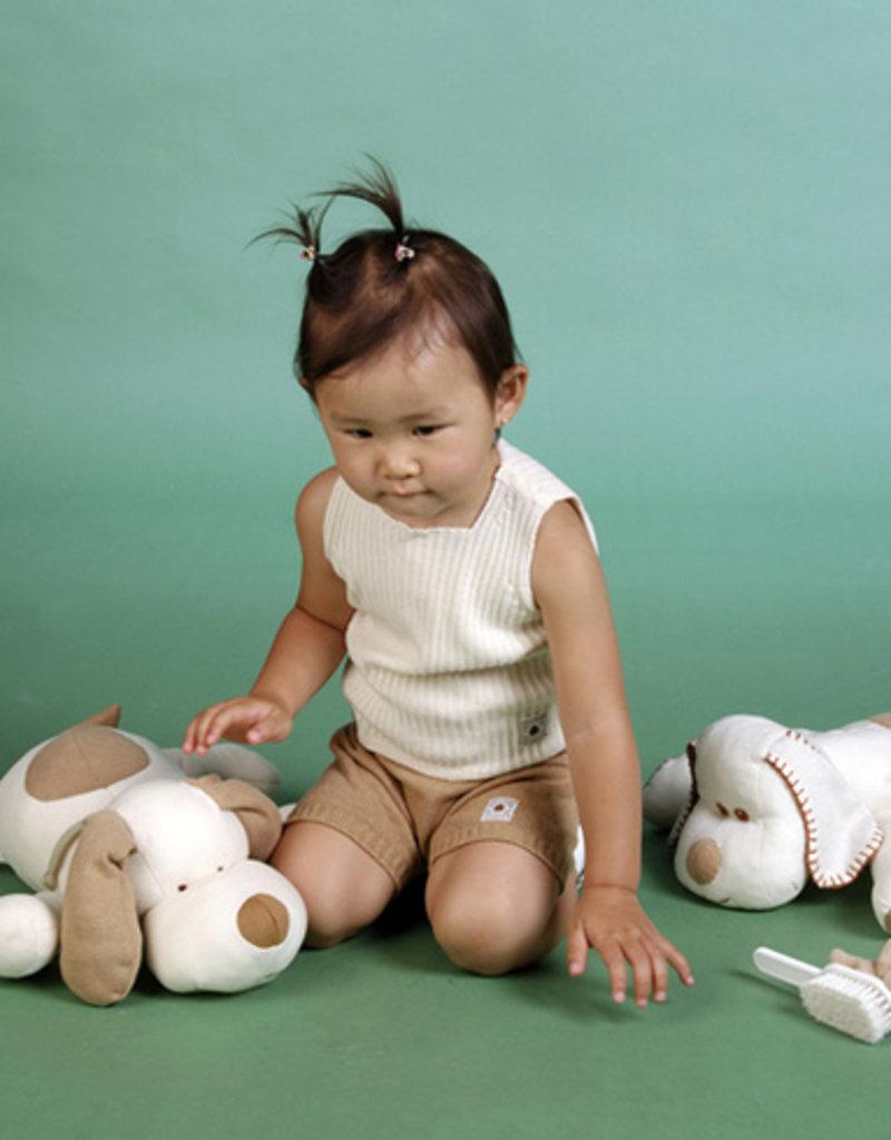 Sueter bebé sin mangas. Tallas 1, 3, 6 meses.