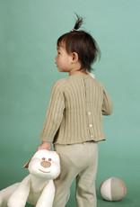 Sueter bebé manga larga con botones por detrás. Tallas 12, 18, 24 meses.