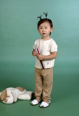 Sueter bebé manga corta con botones por detrás. Tallas 1, 3, 6 meses.