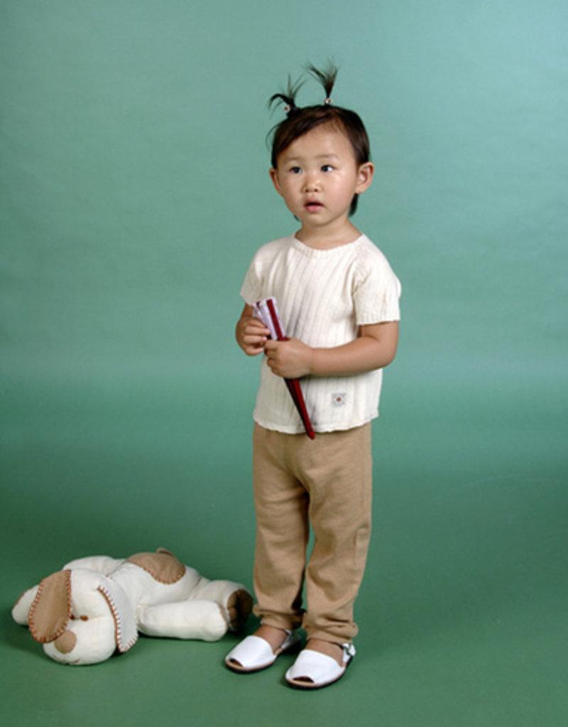 Sueter bebé manga corta con botones por detrás. Tallas 12, 18, 24 meses.