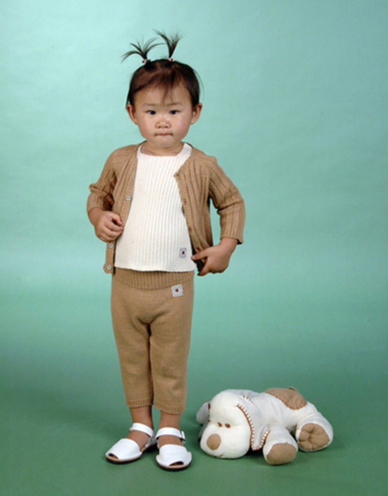 Chaqueta bebé manga larga con botones delante. Tallas 12, 18, 24 meses.