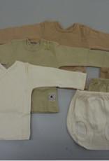 Conjunto camiseta y ranita. Tallas 0, 1, 3, 6 meses.