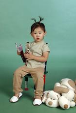 Camiseta bebé cruzada manga corta. Tallas 12, 18, 24 meses.