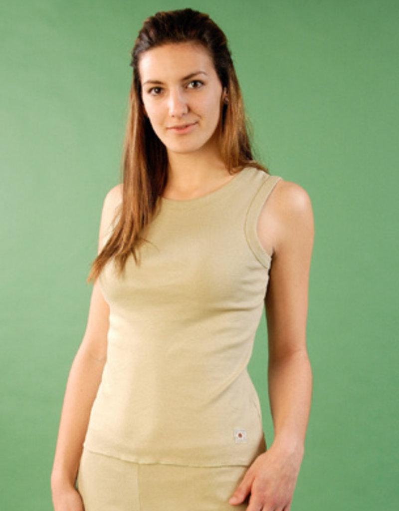 Sleeveless short sleeves shirtfor women
