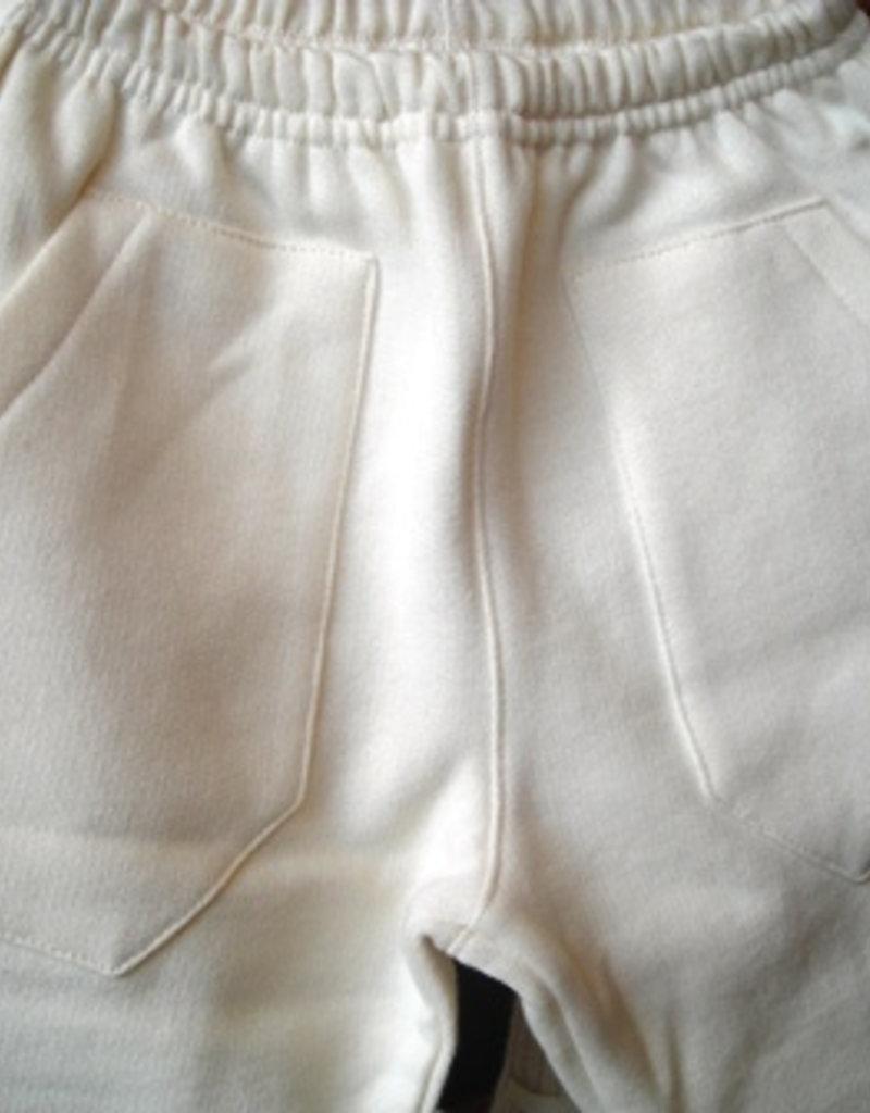 Pantalón bebé de felpa con bolsillos. Tallas 12, 18 meses.