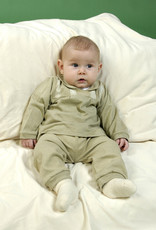 Blusa bebé canesú de manga larga