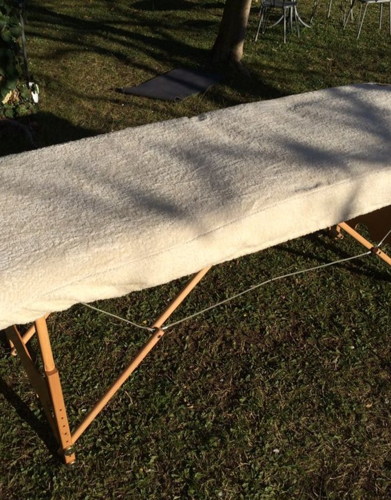 Litter cover with terry fabric 80x190 cm.