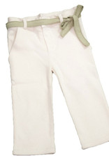 Junior pant with belt. sizes 12, 24, 36, 48 months.