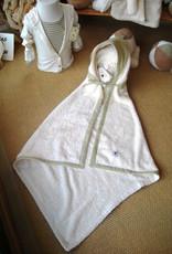 Capa de baño con capucha 1x1m