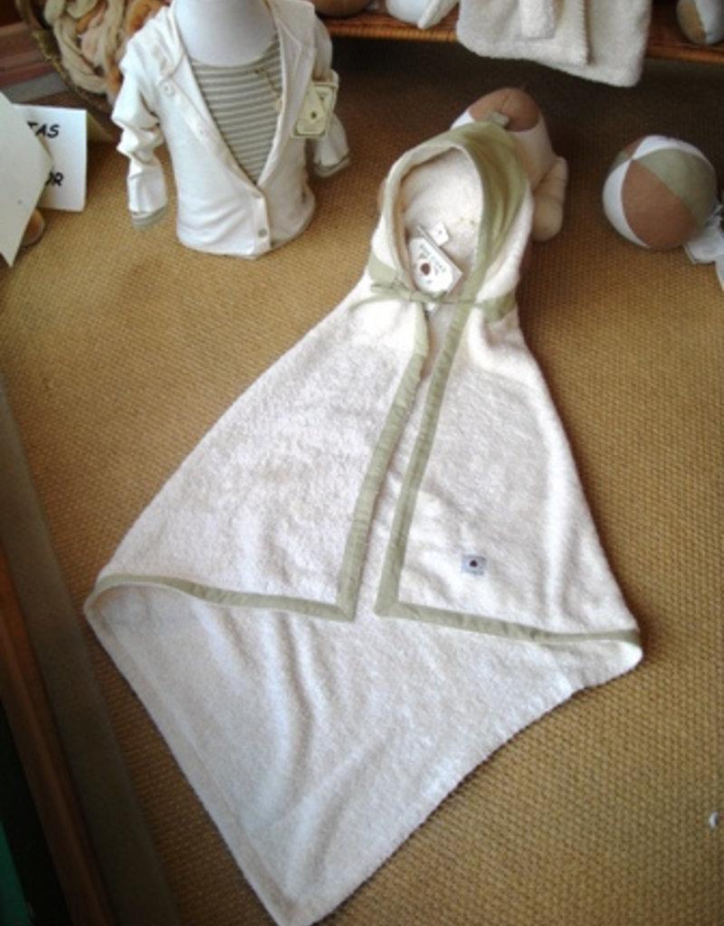 Hooded bath cape 1x1m