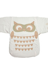 Baby sack with owl shape. measures 40x60cm.