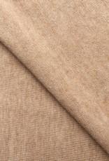 Single jersey brown 4% elastan OCCGuarantee 175grs.